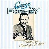 CD GEORGE FORMBY WHEN I'M CLEANING WINDOWS LEANING ON A LAMPOST WUNGA BUNGA BOO