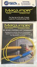 Magjumper - Magnetic Tip Jumper HVAC Testing Troubleshooting Tool *BLUE*