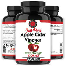 Weight Loss Just Pure Apple Cider Vinegar Pills, All Natural  Angry Supplements