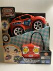 """Little Tikes Remote Control RC Wheelz First Racers Red Car Toy 49 MHz 8""""L NEW"""