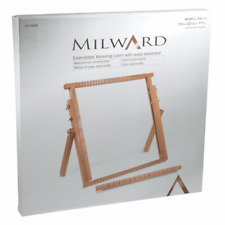 Milward Beech Wood Extendable Weaving Loom With Warp Separator