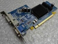 128mb ATI Radeon 109-A2831 0XG857 XG857 X300SE VGA / DVI / TV PCIe Graphics Card