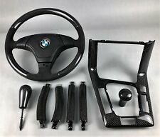 BMW E36 LIMO TOURING PERFORMANCE CARBON INTERIOR TRIM KIT LENKRAD STEERING WHEEL