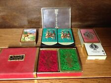 Vintage Playing Cards ~ Duratone Arrco ~ Congress ~ 6 Deck Lot