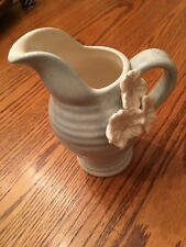 Grasslands Road Pitcher, Potters Wheel, blue, beautiful collectible, never used!