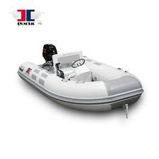 """11'7"""" (340R-AL) Aluma-Lite® Euro-console Inflatable Boat w/ Suzuki 30 Hp"""