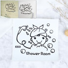 Wall Art Stickers For Bathroom Toilet Home Decor, Quality Vinyl Decal Quot O❤