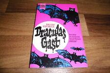 Bram Stoker -- DRACULAS GAST (Dracula`s Guest) // Stories, Heyne 1972