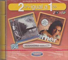 Alejandro Lerner 2 LPs Igual A 1 CD New Sealed