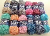 King Cole Vogue Soft Cotton Double Knitting Wool/Yarn  - All Colours