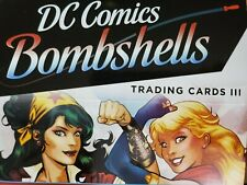 2019 DC Comics Bombshells Series 3 III Vintage Photographs Pick Your Card