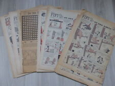 Lot Fifi et ses amis + Fleurette - histoires découpées de magazines