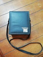 Vintage 1987 RS Components Luxmeter Part No 610-815 with Original Case