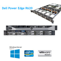 Dell PowerEdge R620 2x E5-2640 6 Core 2.5Ghz 256GB RAM 4 x 300GB HDD H710 Raid