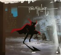 SPAWN TODD McFARLANE ANIMATED SERIES ORIGINAL ANIMATION CEL DRAWiNG HBO SIGNED