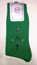 Vintage Camp Golf Socks Green Made in Usa 1 Pair ~ New