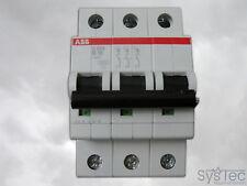 ABB S 203 B16, S203B16, Leitungsschutzschalter, 3-polig, 16 A, Sicherungsautomat