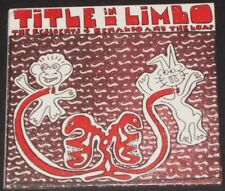THE RESIDENTS and RENALDO AND THE LOAF title in limbo EUROPE CD new SNAKEFINGER