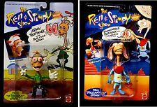 Mattel Ren & Stimpy Army Ren Hoek and Commander Ren Hoek Action Figure Set 1993