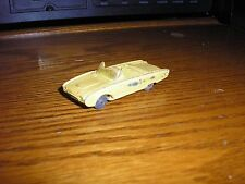 Vintage Husky 1960's Ford Thunderbird Roadster Convertible Yellow