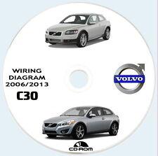 "VOLVO C30 workshop manual  ""Wiring Diagram"".Manuale officina impianto elettrico."