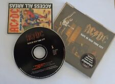 "♪♪ AC/DC ""Safe in New York city"" Maxi CD single (GERMANY press) ♪♪"