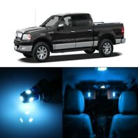 11 x Ice Blue LED Interior Light Package For 2006 - 2008 Lincoln Mark LT + TOOL