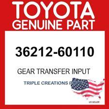 TOYOTA GENUINE 3621260110 GEAR, TRANSFER INPUT 36212-60110