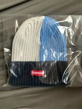 Supreme Overdyed Beanie SS20 Week 0 In Mixed Light Blue