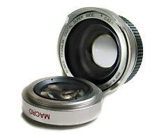 Fisheye Wide Lens for Panasonic NV-GS55 Mini - Digital Video Camcorder, New