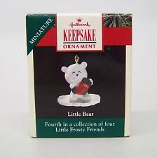 "1990 Hallmark Miniatures "" Little Bear "" 4th in The Collector Series"