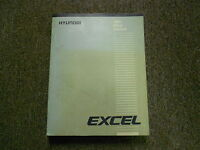 1986 HYUNDAI EXCEL Service Repair Shop Manual FACTORY OEM BOOK 86 HYUNDAI