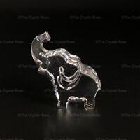 RARE Retired Swarovski Crystal Ernie the Elephant Clear 665041 Mint Boxed