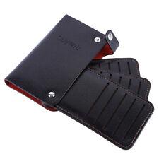 Portable Multi-card Design PU Leather Card Holder Bank Card Credit Card Wallet