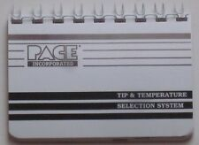 New Pace ST SensaTemp ST 50 Soldering Desoldering Station Tip & Temp Manual