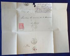 Mayfairstamps Switzerland 1879 Grandcour Folded cover wwg17025
