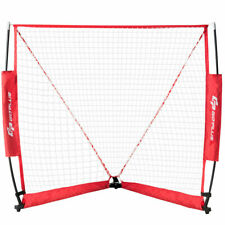 4' Indoor &Outdoor Lacrosse Goal Net Portable Sports Shooting w/ Carry Bag