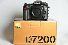 New Nikon D7200 in perfect condition - shuttercount 551