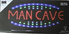 Man cave led lighted sign home new shop decor neon message display club service