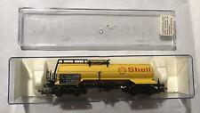 Wagon citerne Shell - Electrotren5424 train essence fret ho