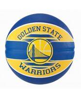 Spalding NBA Official Team Logo Ball Golden State Warriors Rubber Basketball