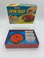 1960's MERIT SPIN QUIZ GAME With Bible Questions  MADE IN ENGLAND