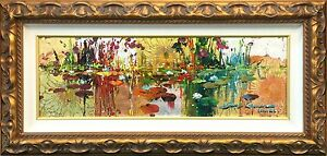 "JAMES COLEMAN ""GIVERNY IN GOLD"" 