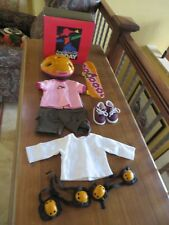 American Girl Today Skateboard Outfit & Accessories Complete Retired 2001 NIB