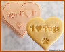 Pug Dog Cookie Cutter Heart Cute Biscuit Baking Supplies Tool Ceramics Pottery