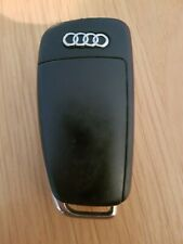 AUDI 3 BUTTON REMOTE CAR KEY FOB IN WORKING ORDER 8E0837220K 433MHz REF 414