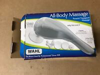 NEW OPEN BOX Wahl All Body Therapeutic 2-Speed Massager