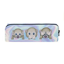 USA Student Pencil Pen Case Box Cosmetic Pouch Pocket Brush Holder Makeup Bag