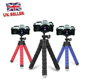 Mini Handheld Tripod Stand Octopus Grip Holder Camera Mount ONLY - UK Seller