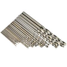 HSS Mini Bohrer Satz 0.5 bis 3.0 mm 25 Teilig Spiralbohrer Set Modellbau Bohren